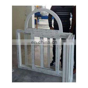 Jinan plastic upvc pvc profile arch window door arch bending making machine