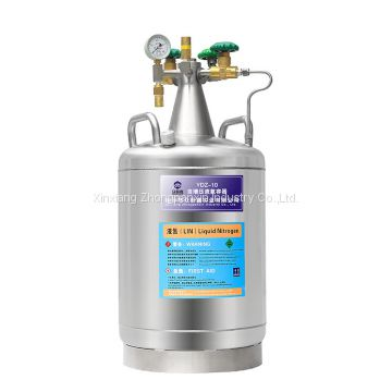 YDZ Stainless Steel Material Self-pressurized Liquid Nitrogen Container Supply Cylinder Price