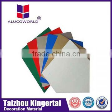 Alucoworld aluminium composite panel fire-resistance aluminum composite panel lightweight cladding systems