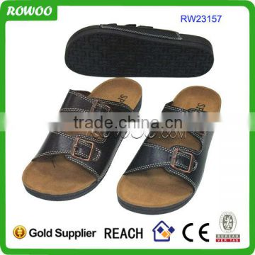 2014 new arrival pupolar cork insole adult sexy slippers for men