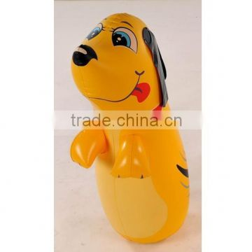 Inflatable dog Bop Bag