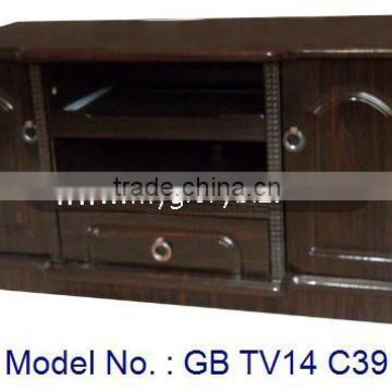 Small Tv Stand Designs : New antique mdf furniture small tv stand tv cabinet with showcase