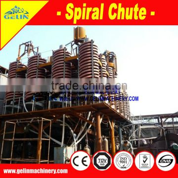 High quality zircon concentrating plant