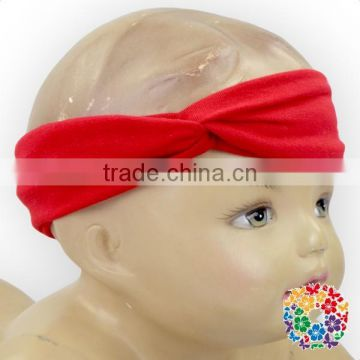 Unisex Toddler And Children Two Size Stretchy Cotton Sweet Sport Headband