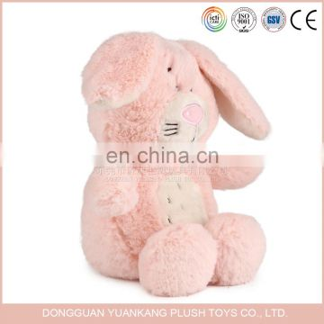 Promotional plush pink teddy bear