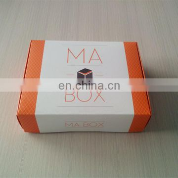 100% custom organge cellphone shipping box,shipping box for suits,skateboard shipping box