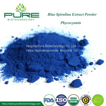USDA Certified Organic Blue spirulina powder