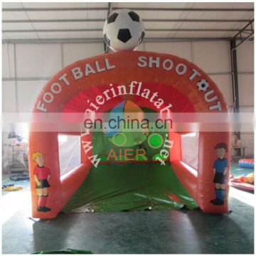 PVC inflatable football gate cheap sport game equipment for sale