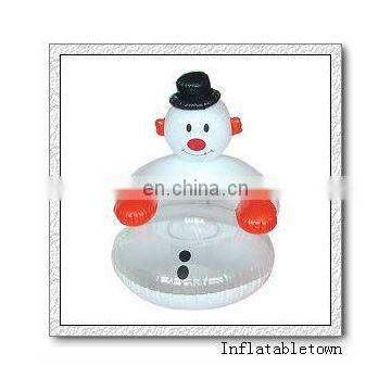 inflatable snowman chair for Christmas