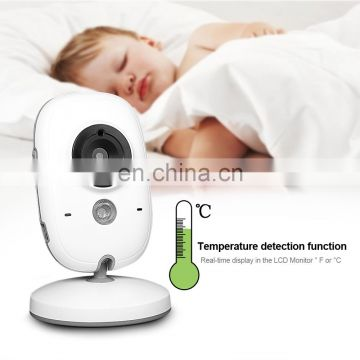 New Arrival 3.2 Inch Wireless Baby Monitor Digital Screen Smart Camera Support Night Vision Intercom Temperature Showing and l