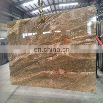 Imported imperial gold granite slab