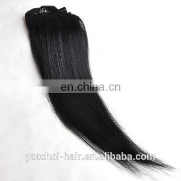 Distributor wholesale Indian hair clip in hair extension