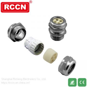 Multi-core stainless steel connector