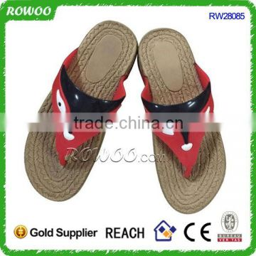 China supplier Popular high quality jute slipper