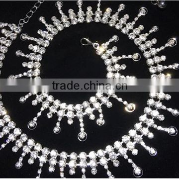 Wuchieal Wholesale Silver Beaded Belly Dance Waist Chain                                                                         Quality Choice