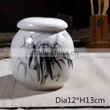 Urn type and ceramic material cheap funeral urn for cremation