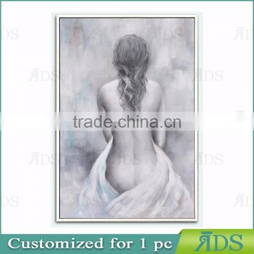 Giclee Print Hot Nude Sex Woman Oil Painting
