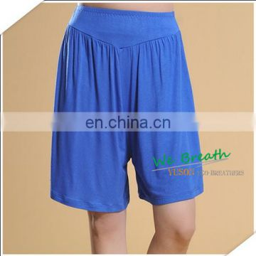 Good quality pantskirt women pajama home wear bamboo shorts