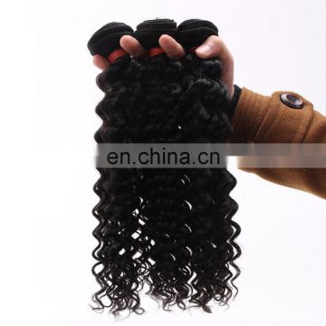 High Quality Deep Curl Virgin Brazilian Hair Cheap Human Hair Bundles Peruvian Hair