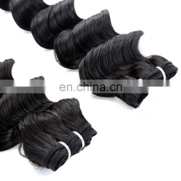 Virgin peruvian hair bundles with lace closure