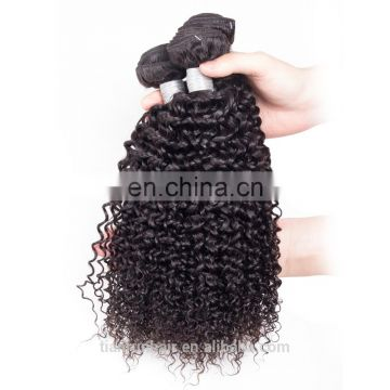 Ali express wholesale virgin cuticle aligned hair bundle afro kinky curly human hair