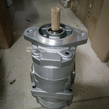 D41 gear pump assy 705-52-21170 komatsu bulldozer hydraulic pump assy  705-52-21170