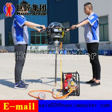 China high quality BXZ-2 double knapsack core drilling rig for sale
