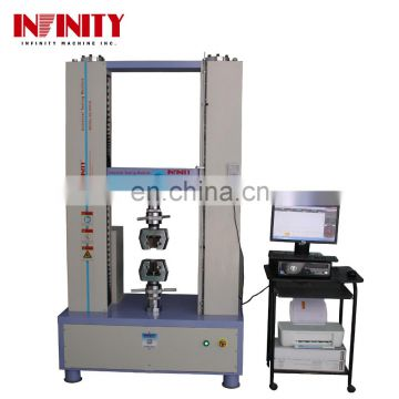 100 300 Kn Universal Tensile Testing Measuring Machine For Shoes Metal Tape Sponge