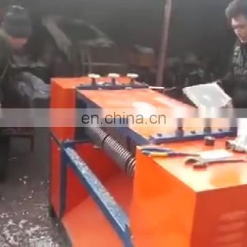 Scrap radiator separating and cutting machine/waste radiator fin separator