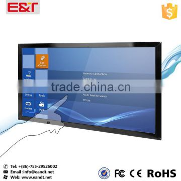 "70"" IR touch screen panel for outdoor usable waterproof for kiosks/digital signage/game machine/education"