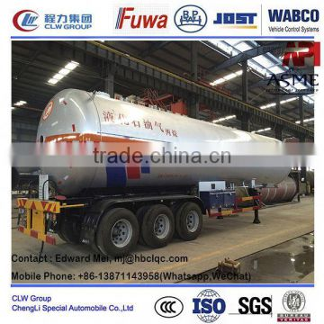 customized lpg transportation container trailer