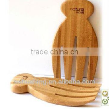 2016 wholesale bamboo salad hands