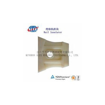 Rail Insulator For Fastening system, Track Material Rail Insulator,China low price Plain Oiled  Rail Insulator