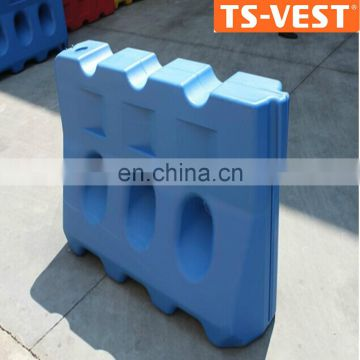China Protection Roadway Water Filed PVC Traffic Plastic Construction PE Barriers