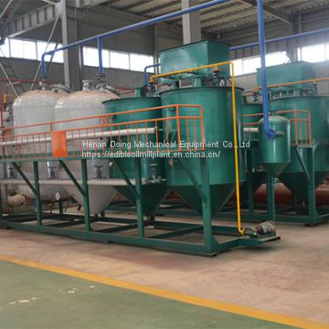 Mini palm oil refining machine,palm oil refining production line