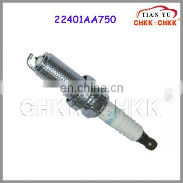 Spark plug OEM 22401-AA750 for Japanese car parts Ignition plug