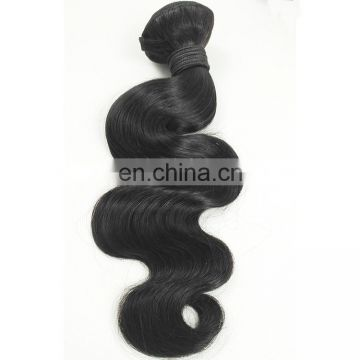 9a Brazilian Virgin Hair Weaves Body Wave Hair Extensions, Indian Remy Hair Weft, Temple Hair Weft