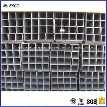 Factory price square hollow section pre galvanized steel tube / pipe