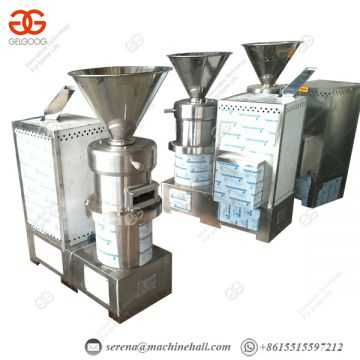 Electric Industrial Commercial Nut Butter Machine Peanut Butter Factory Machine