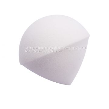 Spherical droplets  PU latex-free powder puff