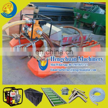 New Product for 2015 Shandong Hengchuan 3Inch Portable Mini River Gold Mining Ship for Small Shallow River Stream