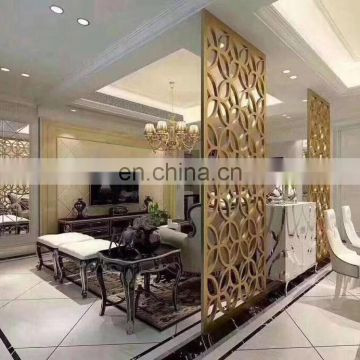 Good quality indoor decorative partition stainless steel screen