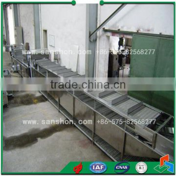 Chain type Blancher Continuous Blanching Machine