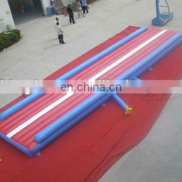Huge Inflatable Air Tumble Track for sports/training