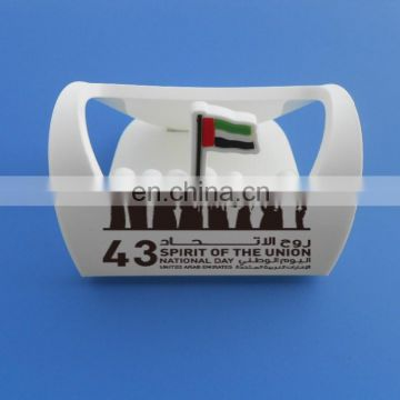 UAE 43 National Day Soft PVC Phone Holder, Mobile Phone Display Stand
