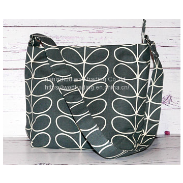 full printed waterproof polyester shoulder messenger bag