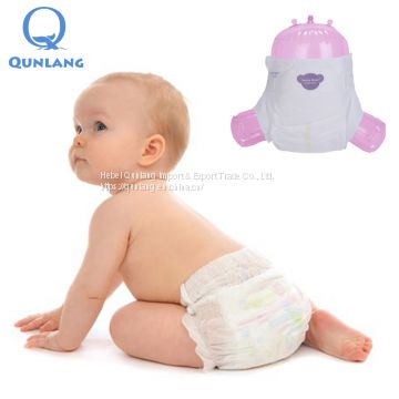 Soft Non-woven disposable high absorption quality baby diapers