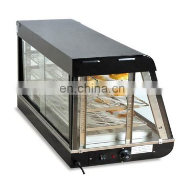 Curved Glass Warming Showcase Cooked Cabinet Cooked Food Preservation Tank Thermal Container Cooking Tools