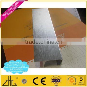 Wow 6463 6063 Anodized Polishing Brushing Aluminum Extrusion