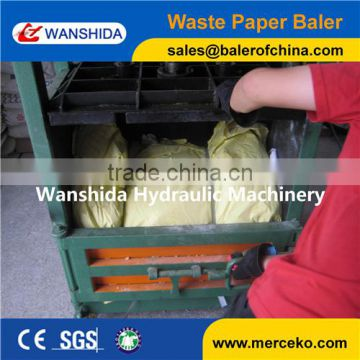 direct sale Y82 vertical waste plastics recycling baler SGS